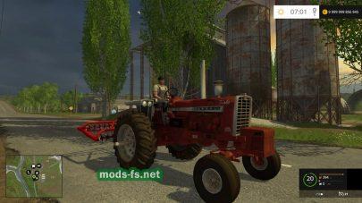 Трактор FARMALL 1206 для Farming Simulator 2015