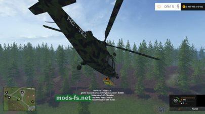 Мод вертолета Agusta A.109 [CAMO]
