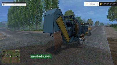 Мод комбайна для уборки картофеля в Farming Simulator 2015