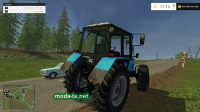 Трактор Беларус 892 для Farming Simulator 2015