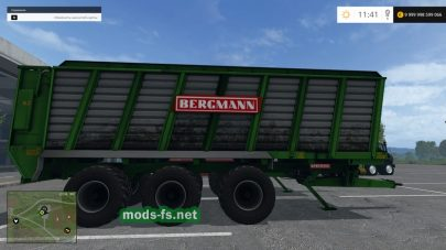 Два прицепа Bergmann HTW Pack