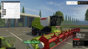 CLAAS LEXION 670 для игры Farming Simulator 2015