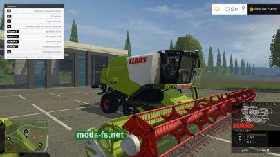 CLAAS LEXION 670 для игры Farming Simulator 2015