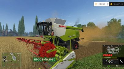 CLAAS LEXION 670TT для Farming Simulator 2015