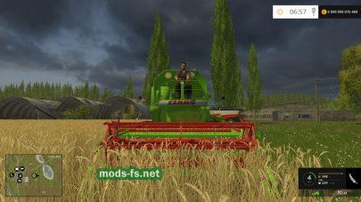 Скриншот мода Claas Mercator 60