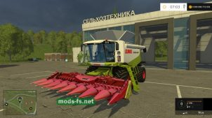 CLASS LEXION 600 для Farming Simulator 2015