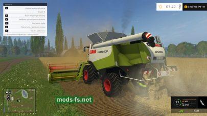CLASS LEXION 600 mods