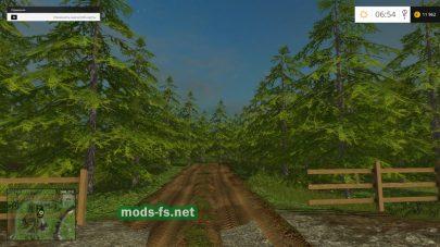 FS 2015: дорога в лесу