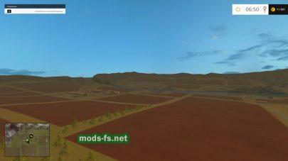 Поля на карте «River Outback»
