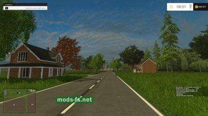 Американская карта для Farming Simulator 2015