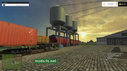 Погрузка поездов в FS 2015
