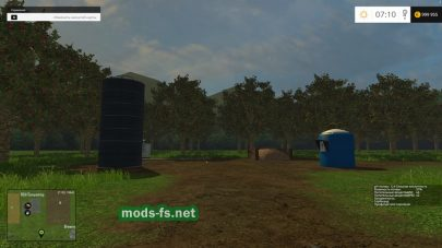 Скриншот карты «Great Western Farms» в игре Farming Simulator 2015