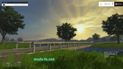 Красивая природа на карте «Great Western Farms»