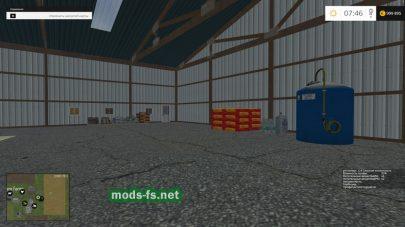 Заправка удобрениями и семенами в игре Farming Simulator 2015