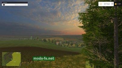 Большая карта для Farming Simulator 2015