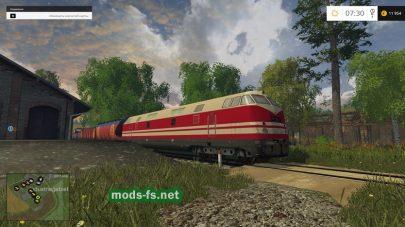 Поезд и железная дорога в FS 2015