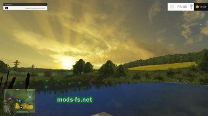 Озеро в игре Farming Simulator 2015