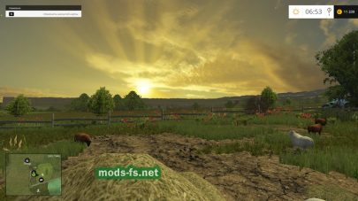 Овцы в Farming Simulator 2015