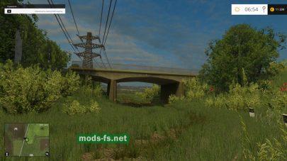 Мост в игре FS 2015