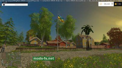 Прапор Украины в игре Farming Simulator 2015