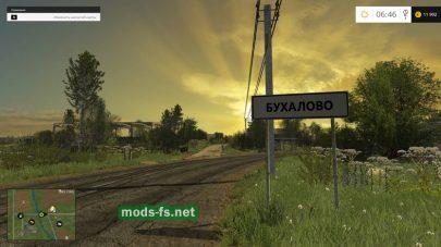 Новая карта «Бухалово» для игры FS 2015
