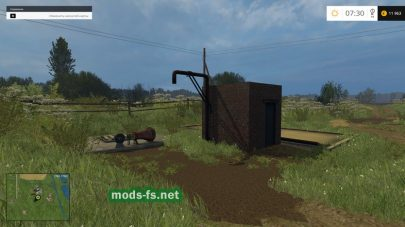 Большая карта для Farming Simulator 2015