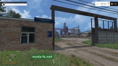 Товарная станция в игре FS 2015