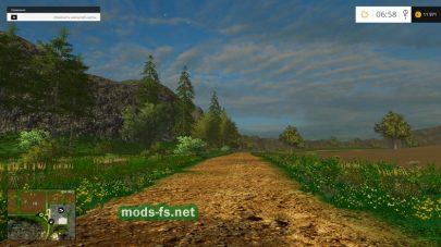 Дороги на карте «Fazenda Pandora»