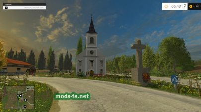 My Dolgosfalva для Farming Simulator 2015