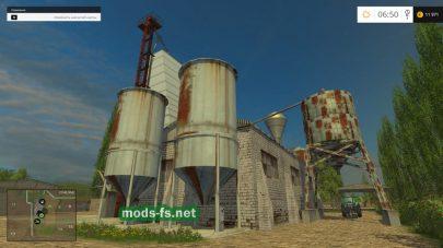 Погрузка зерна в Farming Simulator 2015