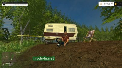 Рыбалка в Farming Simulator 2015