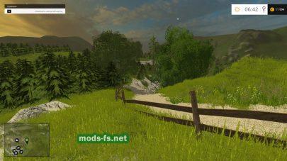Мод красивой карты гор в Альпах для игры FS 2015