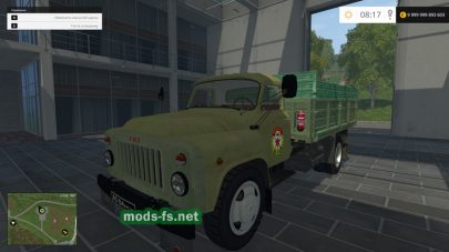 ГАЗ 53 для Farming Simulator 2015