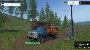 ГАЗ-53 (бензовоз) для игры Фермер Симулятор 2015