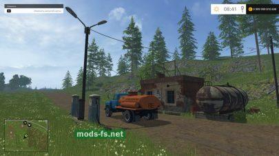 Мод ГАЗ-53 и заправка для FS 2015