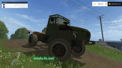 Грузовик Урал 43206 для Фермер Симулятор 2015