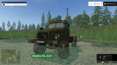 ural-43206 mods