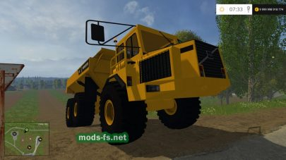 Мод VOLVO BM A25C для Farming Simulator 2015
