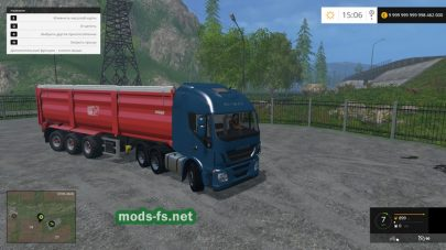 Грузовик IVECO HIWAY для Farming Simulator 2015
