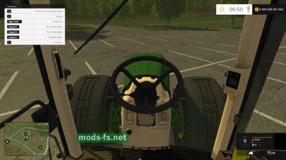 Скриншот мода «JOHN DEERE 8520 FH»