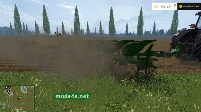 Большой плуг для Farming Simulator 2015