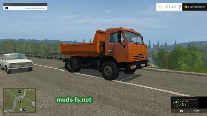 kamaz-43255 для игры Farming Simulator 2015