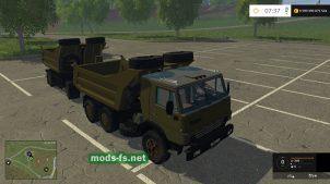 Мод КамАЗ 54102