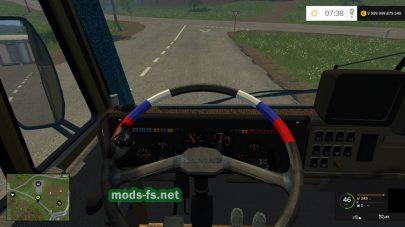 Скриншот мода КамАЗ 54102