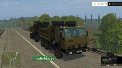 kamaz-54102 mods FS 2015