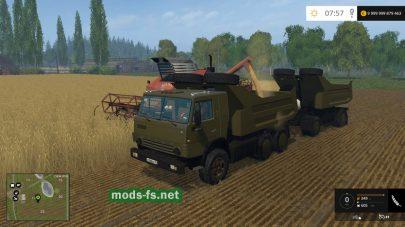 КамАЗ 54102 для Farming Simulator 2015