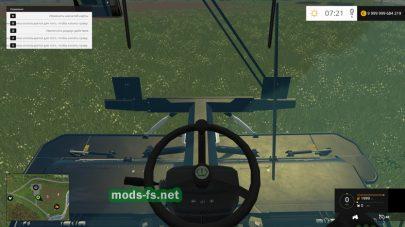 Управление косилкой KRONE BIG M500