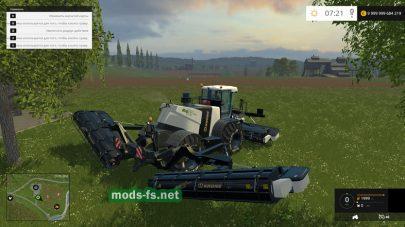 Мод KRONE BIG M500 для Farming Simulator 2015