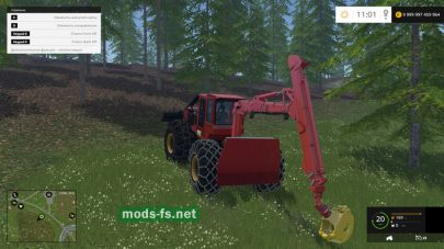 Мод трактора «LE CAMOX F175 GRUE»