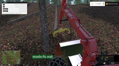 Трактор погрузчик «LE CAMOX F175 GRUE» для FS 2015